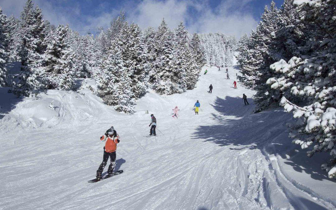 Ouverture du domaine skiable le 3 décembre