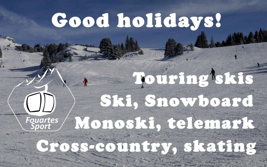 Good ski holidays in Chamrousse !
